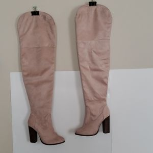 Never worn Charlotte russe thigh high boots